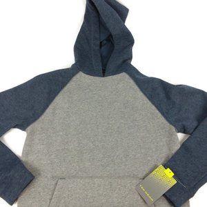 Tek Gear Gray Kangaroo Pocket Hoodie Jacket Large